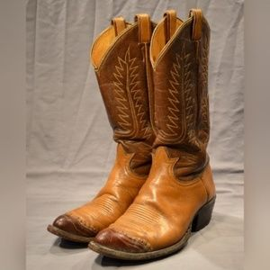 Vintage TONY LAMA - Men's US 7 E - LIZARD TOE